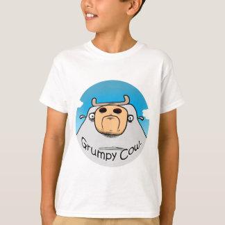 気難しい牛 Tシャツ