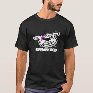 気難しい犬の不足分の袖のティー Tシャツ