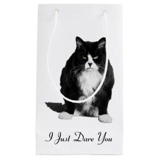 気難しい猫のギフトバッグ スモールペーパーバッグ