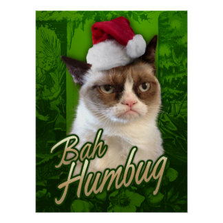 気難しい猫のメリークリスマス/Bahの詐欺 ポスター