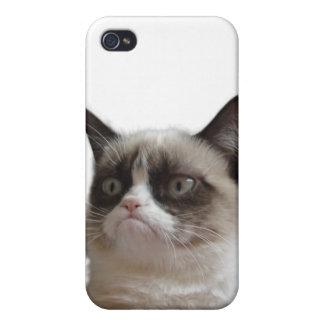 気難しい猫のiphone 4ケース iPhone 4 case