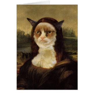 気難しい猫 カード