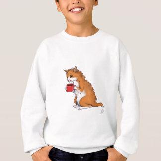 気難しい猫 スウェットシャツ