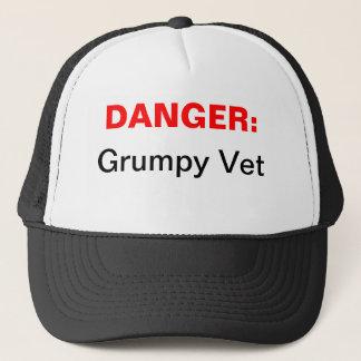気難しい獣医のトラック運転手の帽子 キャップ