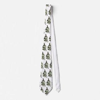 気難しい緑のトロールのタイ ネクタイ