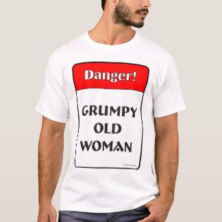 気難しい老女 Tシャツ