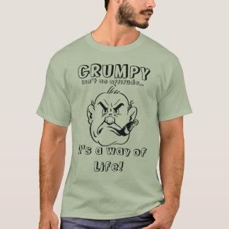 気難しい-生き方 Tシャツ
