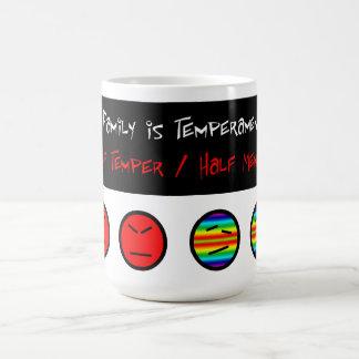気難しな家族のマグ コーヒーマグカップ