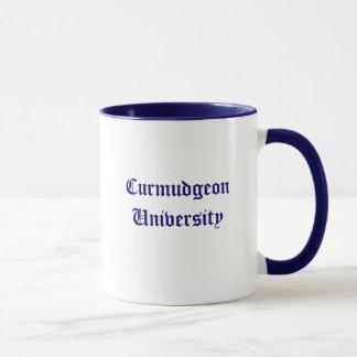 気難し屋大学マグ マグカップ