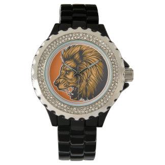 気高いライオン 腕時計