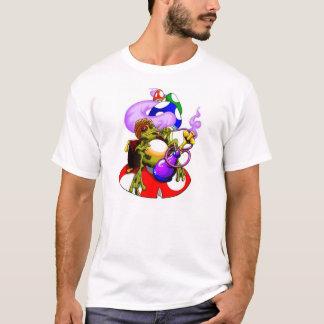 水ぎせるのカエル Tシャツ