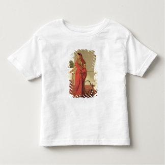 水ぎせる1772年を持つインドのダンサー(油 トドラーTシャツ