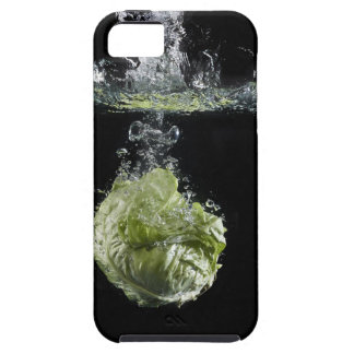 水ではねかけているレタス iPhone SE/5/5s ケース