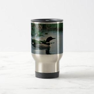 水に共通の水潜り鳥 トラベルマグ