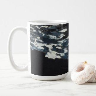 水に月光 コーヒーマグカップ