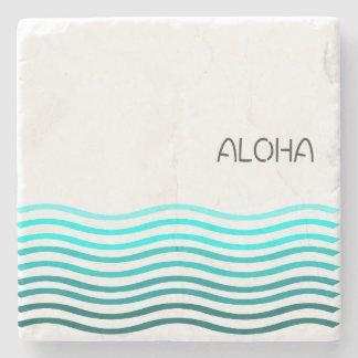 水のアロハ波 ストーンコースター