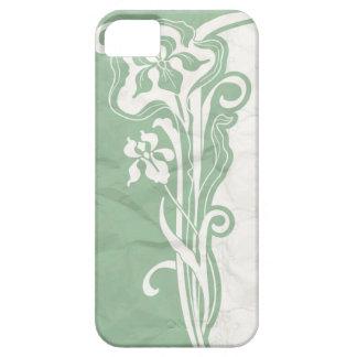 水のアール・デコの紙 iPhone SE/5/5s ケース