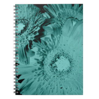 水のガーベラのデイジー ノートブック
