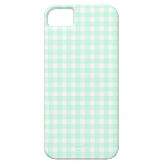 水のギンガムの点検のiPhone 5の場合 iPhone SE/5/5s ケース