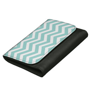 水のシェブロンの財布