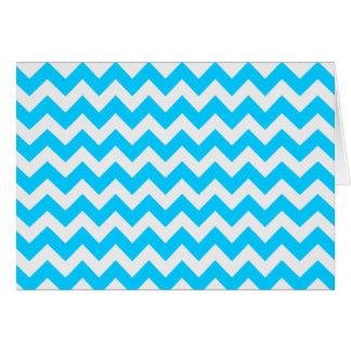 水のジグザグ形のシェブロン カード