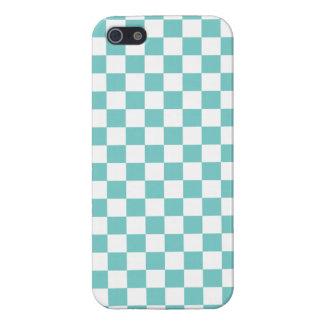 水のチェッカーボードパターン iPhone 5 カバー
