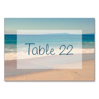水のビーチ結婚式 カード