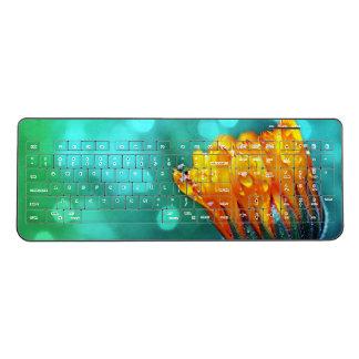 水のマリーゴールド ワイヤレスキーボード
