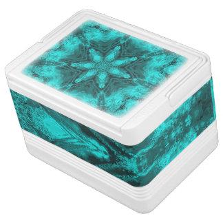 水の万華鏡のように千変万化するパターンの星のイグルー12のクーラーボックス クーラーボックス