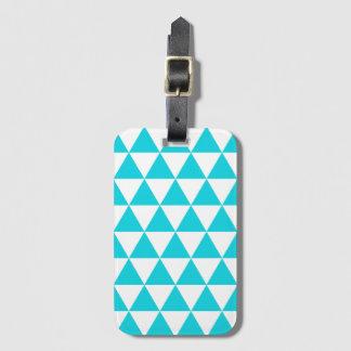 水の三角形パターン手荷物のラベル ラゲッジタグ