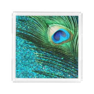 水の孔雀 アクリルトレー