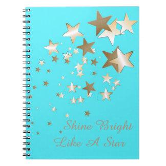 水の星の螺線形ノート ノートブック