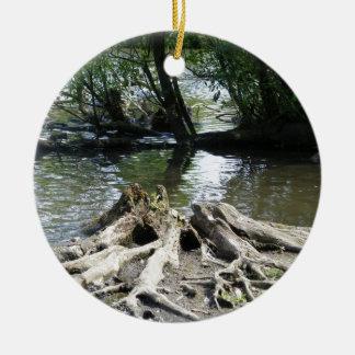 水の根 セラミックオーナメント