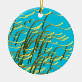 水の海藻 セラミックオーナメント