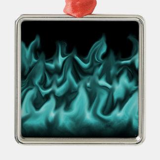 水の炎 メタルオーナメント