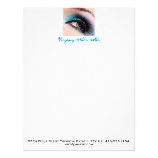 水の目の化粧レターヘッド、インボイス、pricelist レターヘッド
