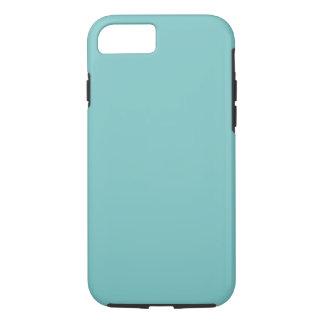 水の空の背景。 エレガントなファッション色 iPhone 7ケース