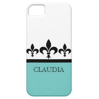 水の粋な(紋章の)フラ・ダ・リBTのiPhone 5の場合 iPhone SE/5/5s ケース