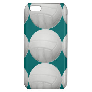 水の緑または色のバレーボールパターン iPhone5C カバー