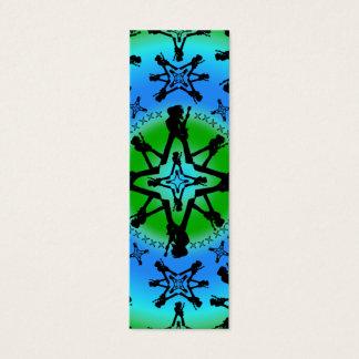 水の至-細いカード スキニー名刺