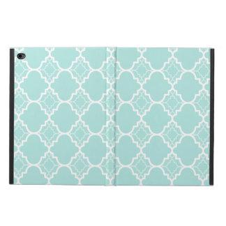 水の青いクローバーの幾何学的なパターン POWIS iPad AIR 2 ケース