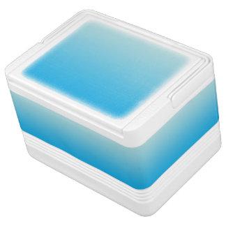 水の青いグラデーション イグルークーラーボックス