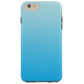 水の青いグラデーション TOUGH iPhone 6 PLUS ケース