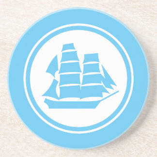 水の青い海賊船のブリッグの航海のなコースター コースター