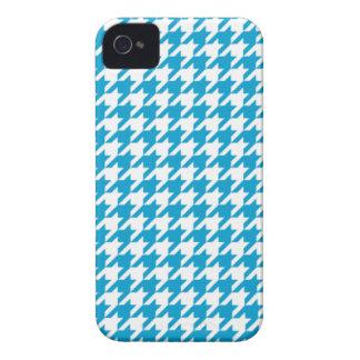 水の青く千鳥格子のなiPhone 4/4Sの箱 Case-Mate iPhone 4 ケース