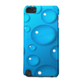 水の青く大きい低下 iPod TOUCH 5G ケース