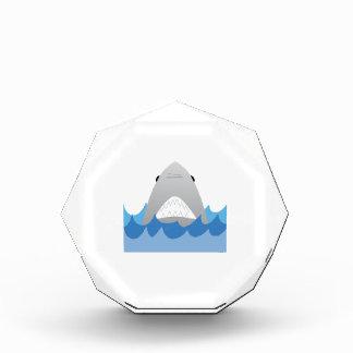 水の鮫 表彰盾