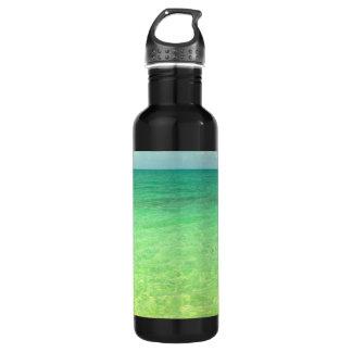水のCaicosの緑の海|のトルコ人および写真 ウォーターボトル