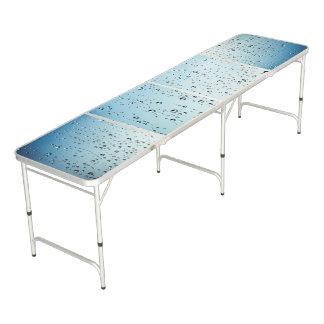 水は錯覚のPongの折りたたみ式テーブルを落とします ビアポンテーブル