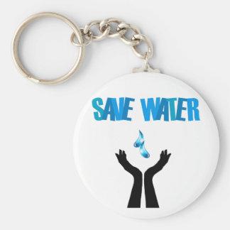 水を救う水手を救って下さい キーホルダー
